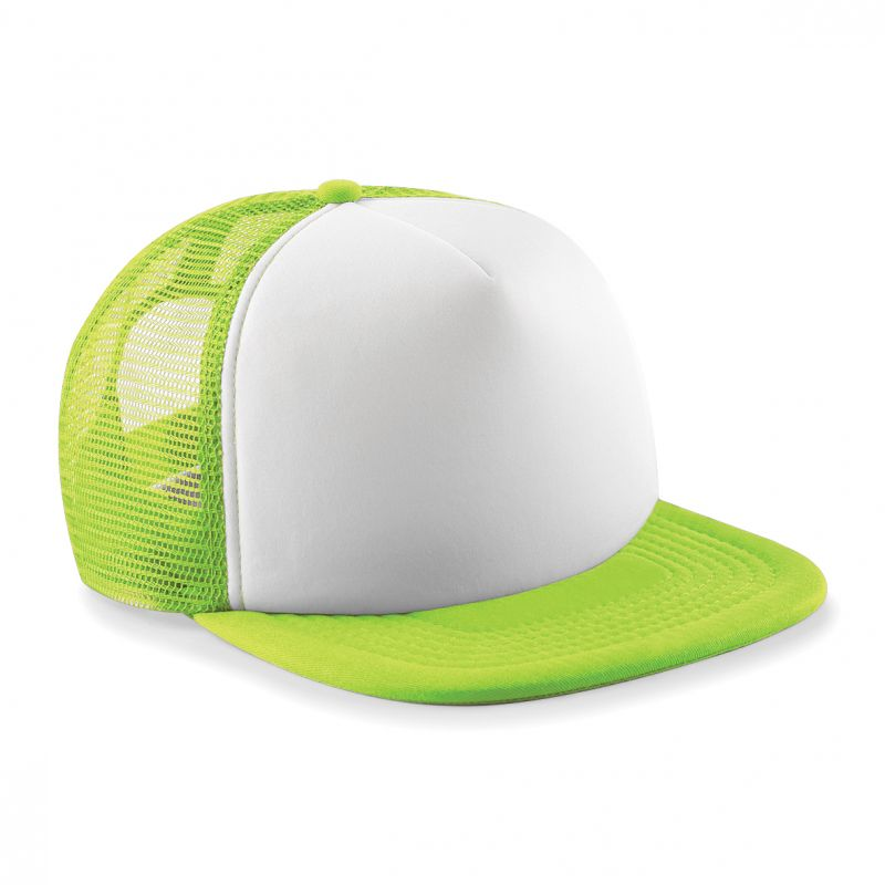 BC645B Lime Green/White